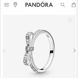 Pandora - Classic Bow Ring!